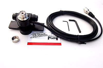 Mb-400 So239 Sturdy Boot Mount For Amateur Or Cb Radio Antenna 4 Metre Cable