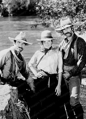 8x10 Print Sam Elliott Tom Sellect Katharine Ross Shadow Riders 1982 #2016317