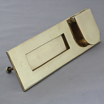 1930's Brass LetterBox and Knocker