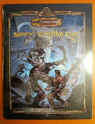 NEW Barrow of the Forgotten King 3.5 Dungeons & Dragons SEALED