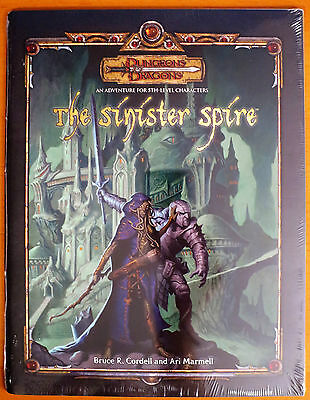NEW The Sinister Spire 3.5 Dungeons & Dragons SEALED
