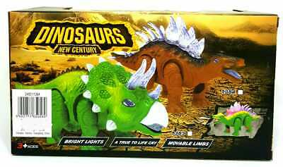 Responsible Desing Battery Operated Dinosaur Toy Realistic Roaring Sound And Walk Gift Animals & Dinosaurs