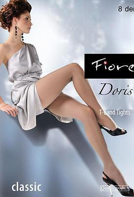 Sheer Tights  Fiore Doris Classic Sheer To Waist Tights  Soft Sheen 8 Denier