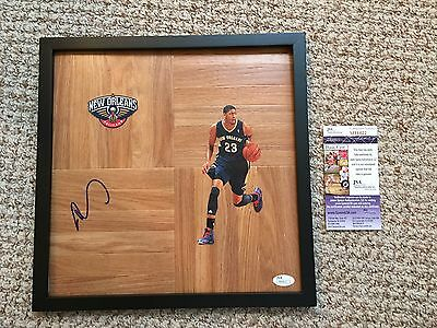 Anthony Davis Signed Autographed Floorboard New Orleans Pelicans Hornets Nba