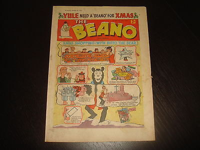 THE BEANO #910 December 26th 1959  CHRISTMAS ISSUE  British UK Comic FN
