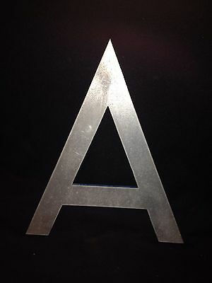 """13 1/2"""" Metal Letter A"""