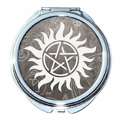 Supernatural Round Compact Mirror