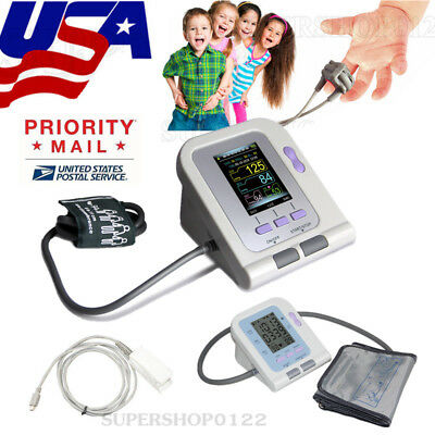 Digital Blood pressure monitor NIBP SPO2 Adult infant use CONTEC08A/08C USA USPS