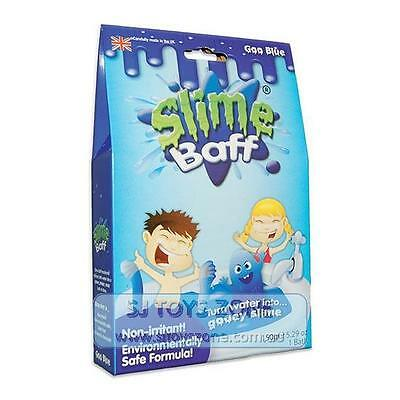 Slime Baff Turn Bath Water into Gooey Slime Fun 100% Safe Goo Blue Made in UK