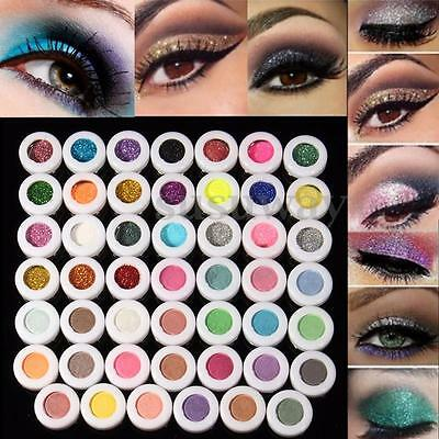 Smoky Eyeshadow Mat Glitter Ombre Fard à Paupières Poudre Pigment Maquillage HOT