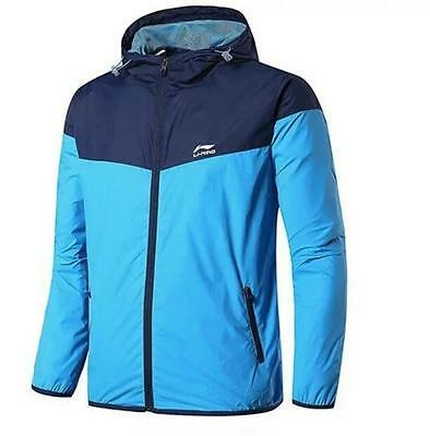 New Li-Ning  Men's clothes Hooded Jackets Long-sleeved Outdoor sportswear coats