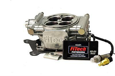 FiTech 30001 Go EFI 4 600hp Self Tuning Fuel Injection Conversion Polished