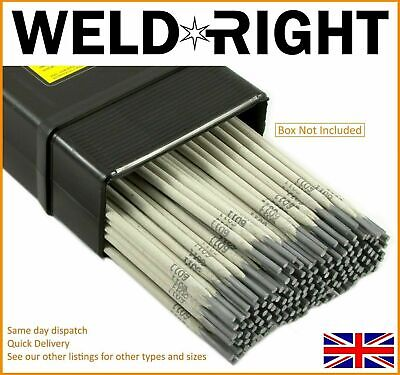 Weldright General Purpose E6013 Arc Welding Electrodes Rods 1.6mm x 30 Rods