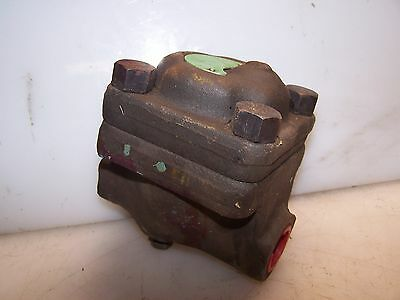 """New Velan 1/2"""" Steam Trap With Air Vent Check Type Tsf  Psi 200"""