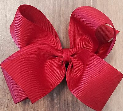 """LOT OF 18 GIRL'S HAIRBOWS HAIR BOWS ~ PICK YOUR COLORS - 4"""" Hair Bows - 4 inch"""