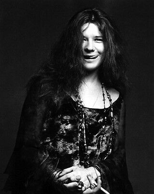 Rock Singer Songwriter JANIS JOPLIN Glossy 8x10 Photo Music Artist Print Poster