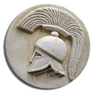 Ancient Greek Helmet Magnet, Made of Casting Stone,