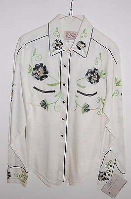 Rockmount  Embroidered Western  Cowboy/girl  Shirt...look !