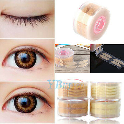 600 Adhesive Invisible Single-Sided Double Eyelid Sticker Strip Tape Makeup Tool