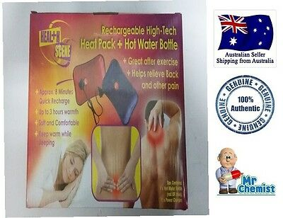 Rechargeable High-Tech Heat Pack-Hot Water Bottle ((Blue and RED))
