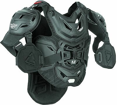 Fly Racing 5.5 pro Leatt chest protector black