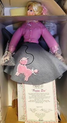 ASHTON-DRAKE~PORCELAIN~PEGGY-SUE YEARBOOK MEMORIES DOLL~Brand NEW with Cert.~NEW