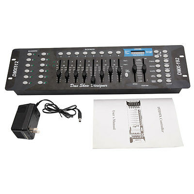 192 CH DMX512 Controller Laser DJ Movin Light Disco Stage Lighting Console Party