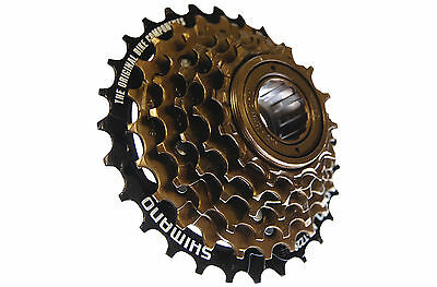 Shimano Tourney MF-TZ20 6-Speed Multiple Freewheel Cassette
