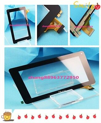 "7"" Inch KURIO FPC-FC70S596-02 Capacitive Touch Screen Panel Digitizer Black zh88"
