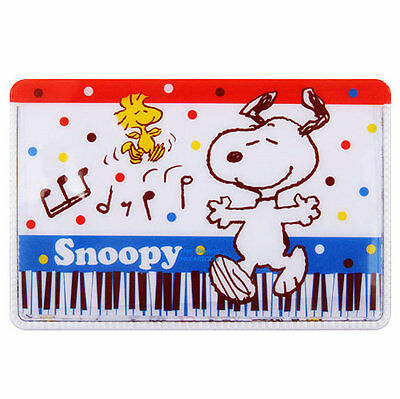 2016 Snoopy Pvc Card Holder 160904