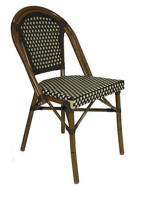 Parisian Cafe Outdoor Chair French Replica Restaurant Dining Seats PARIS Woven