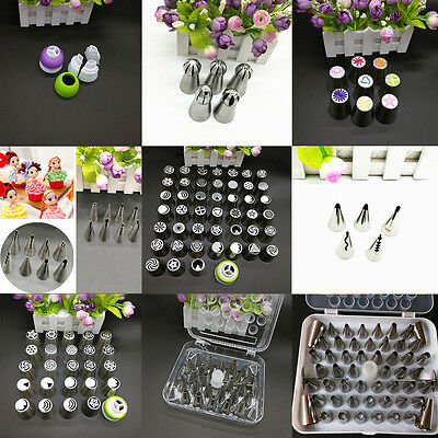 2016 Lots Russian Tulip Icing Piping Nozzles Cake Decoration Tips Home DIY Tool