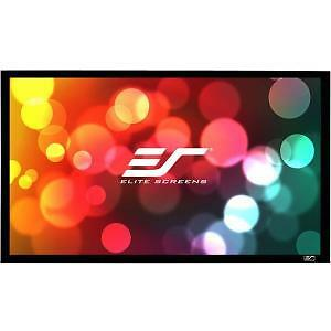 "Elite Screens SableFrame ER120DHD3 Fixed Frame 120"" Projection Screen"