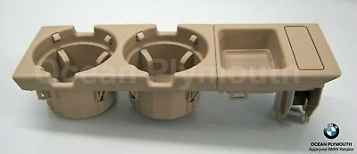 Genuine BMW Cup Holder & Oddments Tray - 3 Series E46 - Beige