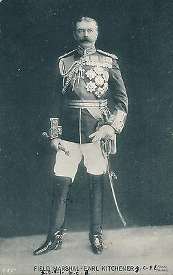 POSTCARD  PERSONS  MILITARY  Kitchener
