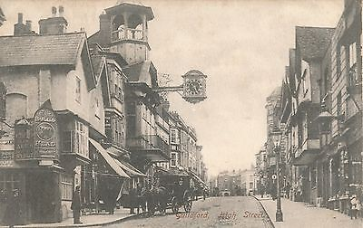 POSTCARD  GUILDFORD   High  Street