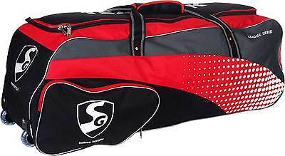 """Brand New Sg Cricket Kit Bag Teampak (With Wheels) Very Comfrtable 40X13.5X13.5"""""""