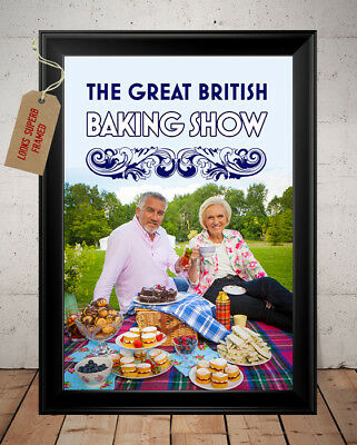 Paul Hollywood The Great British Bake Off Autographed Signed Photo Print - 1