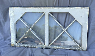 Antique Window Arch Top Decorative Shabby Cottage Chic Old Vtg 1292-16