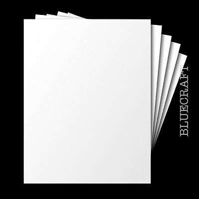 50 x A6 White Blank Competition Entry Postcards 250gsm - Plain No Print