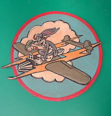 14Th Photo Recon Layered Leather Squadron Patch-England P-38