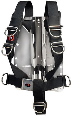 Hollis Solo Harness System for Technical Scuba Diving Systems Harness Only