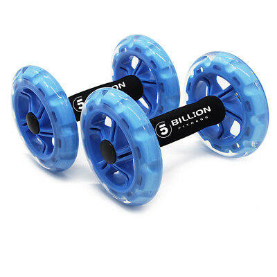 5 BILLION AB Wheel Roller Dynamic Strength & Ab Trainer ABS Core Workout Fitness