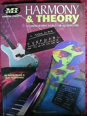 HARMONY & THEORY comprehensive source for all musicians Keith Wyatt & Carl Schro