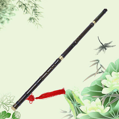 Traditional Chinese Handmade Musical Instrument Long Bamboo Flute in G Key