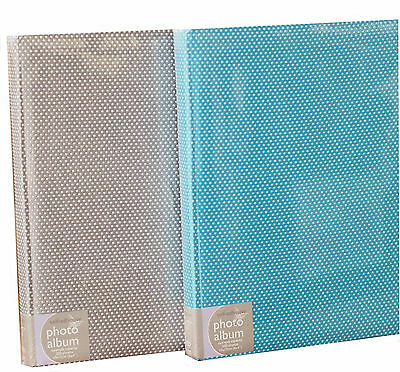 Large Bookbound Self Adhesive Photo Album Storage 50 Pages - Betty Blue Design