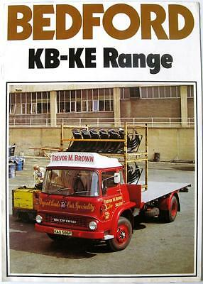 BEDFORD KB-KE Range - Commercials Sales Brochure - Oct 1975 - B/BX1730/10/75