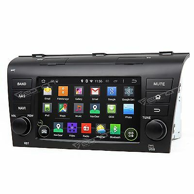 "7"" Android Car Radio Stereo MP3 Player GPS Navi Multimedia Wifi 3G for Mazda 3"