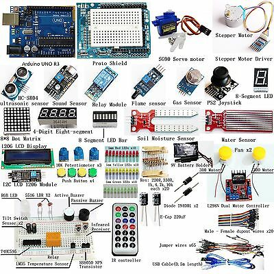 New Ultimate UNO R3 for Arduino Starter Kit(style two)