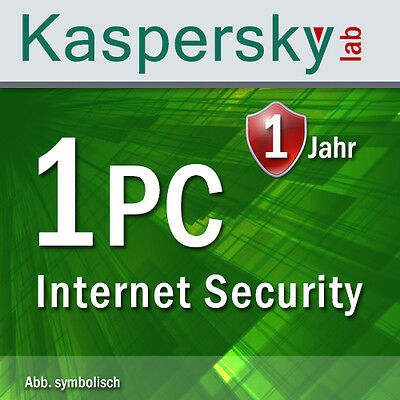 Kaspersky Internet Security 1 PC / 1 Device for Version 2017 and 2016